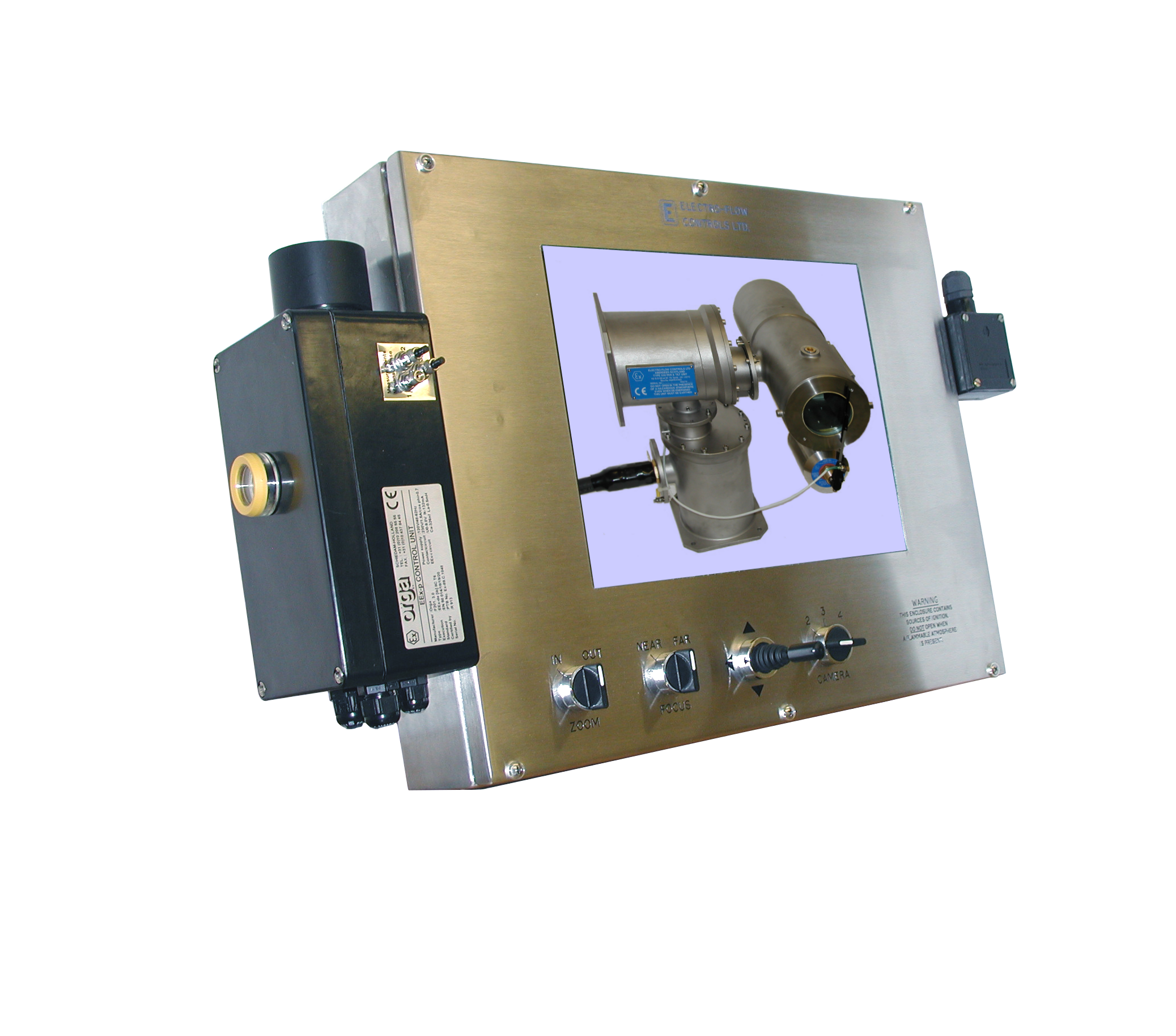 Driller s CCTV monitor